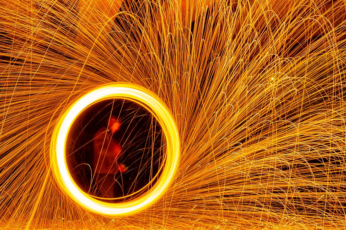 Steel Wool Photography Ireland
