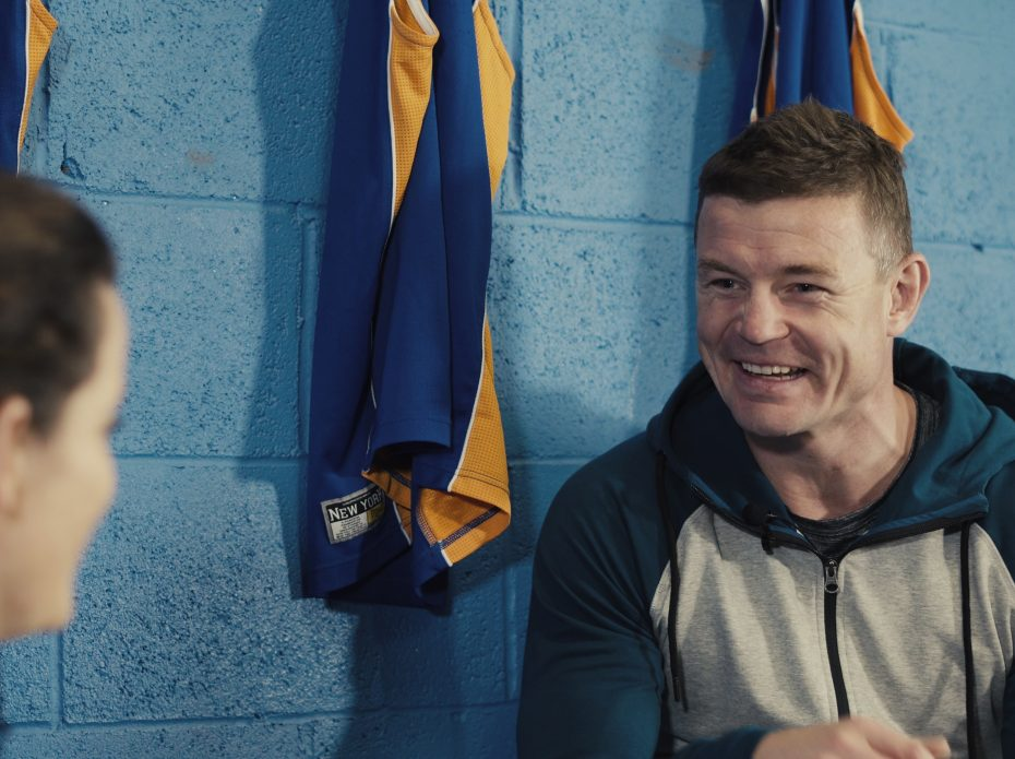 Brian O'Driscoll Meets the Irish Wheelchair Rugby Community