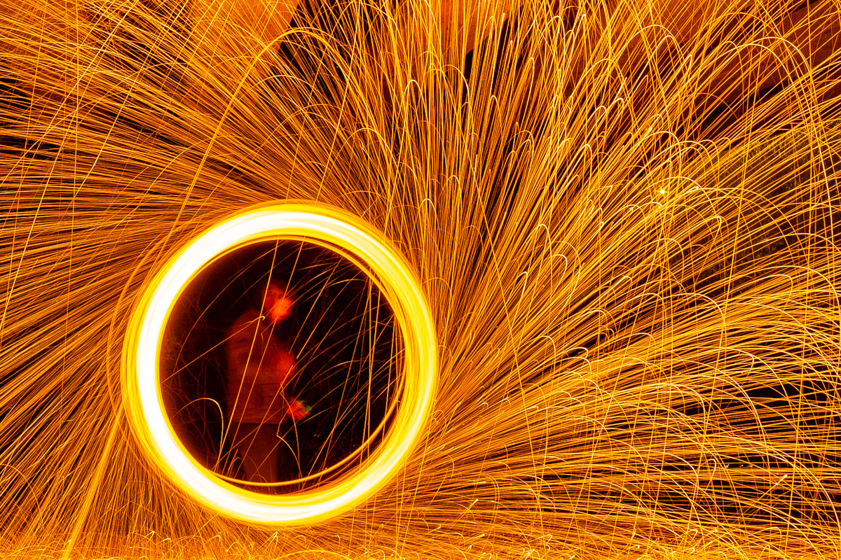Steel Wool Photography Ireland